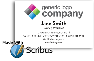 DIY Simple Business Cards with Scribus